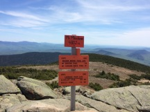 From the summit of Mt Moosilauke