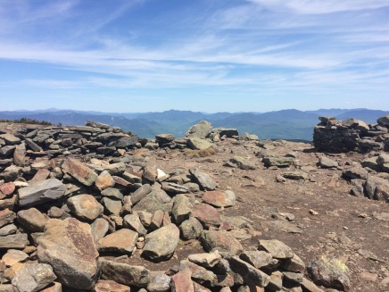 From the summit of Mt Moosilauke.