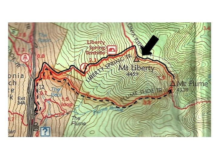 Map - Mt Liberty